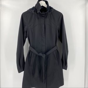 Lululemon apres sport black rain jacket